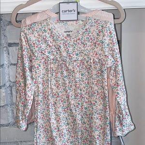 NWT Baby Girl Nightgown Pajamas